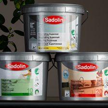 Sadolin Supermat, Sadolin vægmaling glans 10 og glans 20